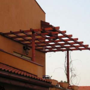 Pergole lemn masiv/ stratificat